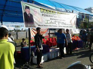 Pasar Murah Pemerintah Provinsi Sulawesi Barat menjelang Hari Raya Idul Fitri 1437 H Senin, 04 Juli 2016