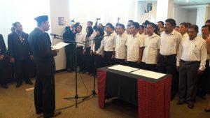 PPK se-Kabupaten Mamuju Resmi dilantik dan diambil Sumpahya Oleh Ketua KPU Mamuju