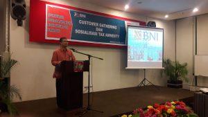 KPP Pratama Mamuju Bersama BNI 46 Cabang Mamuju Sosialisasi Tax Amnesty