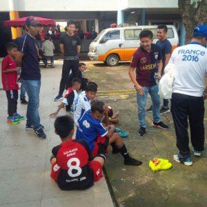 Lawan DKI 2, Enam Pelatih Mitra Manakarra, Semangati Tim.