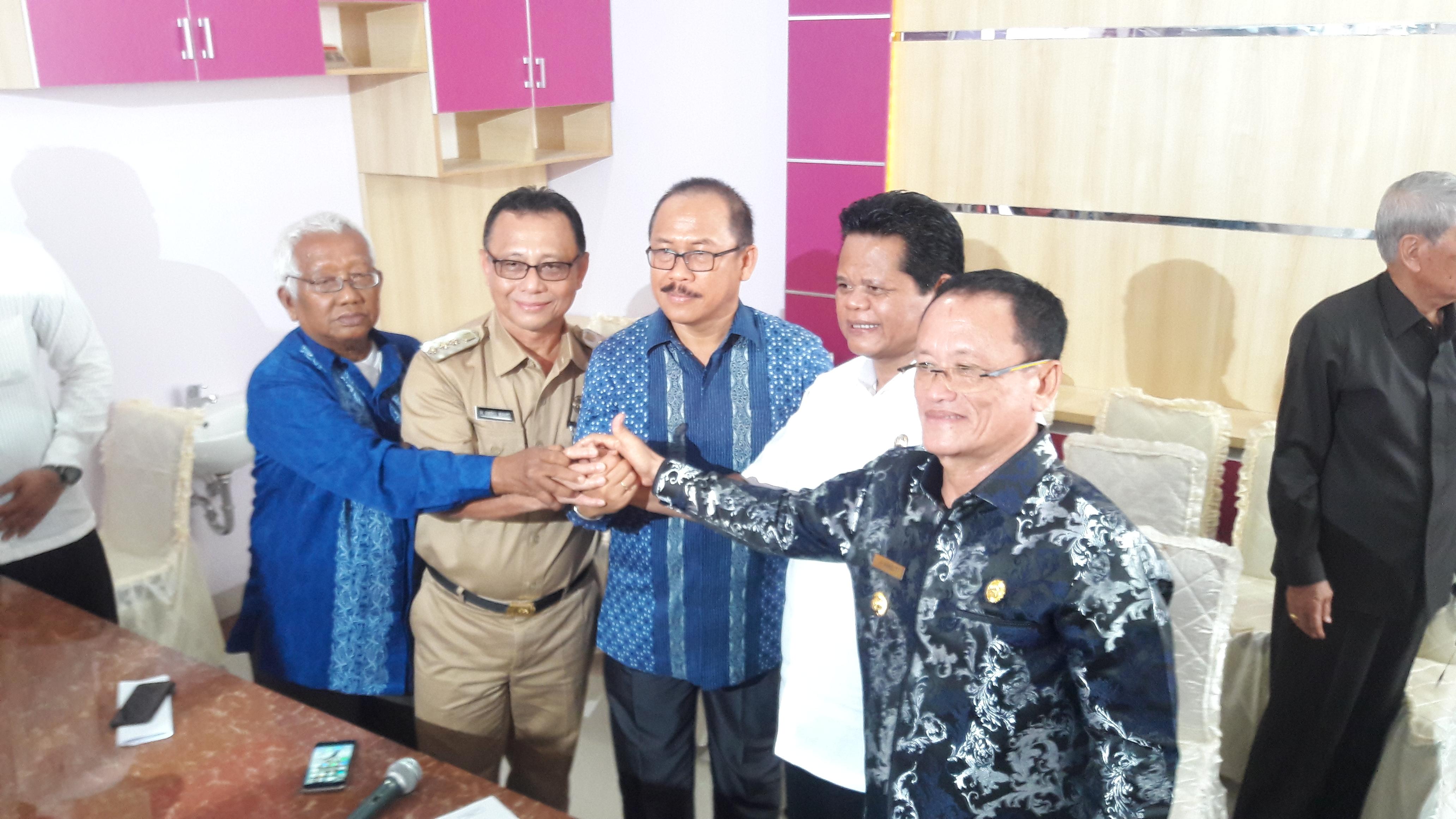 Demokrat Sul-Bar Press Releace Pasca Menerima Rekomendasi DPP