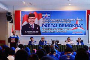 DPD Demokrat Sulbar Gelar Rapat Pengurus
