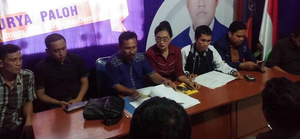 Pengantian antar waktu ( PAW) Anggota DPRD Mamuju Utara Partai Nasdem