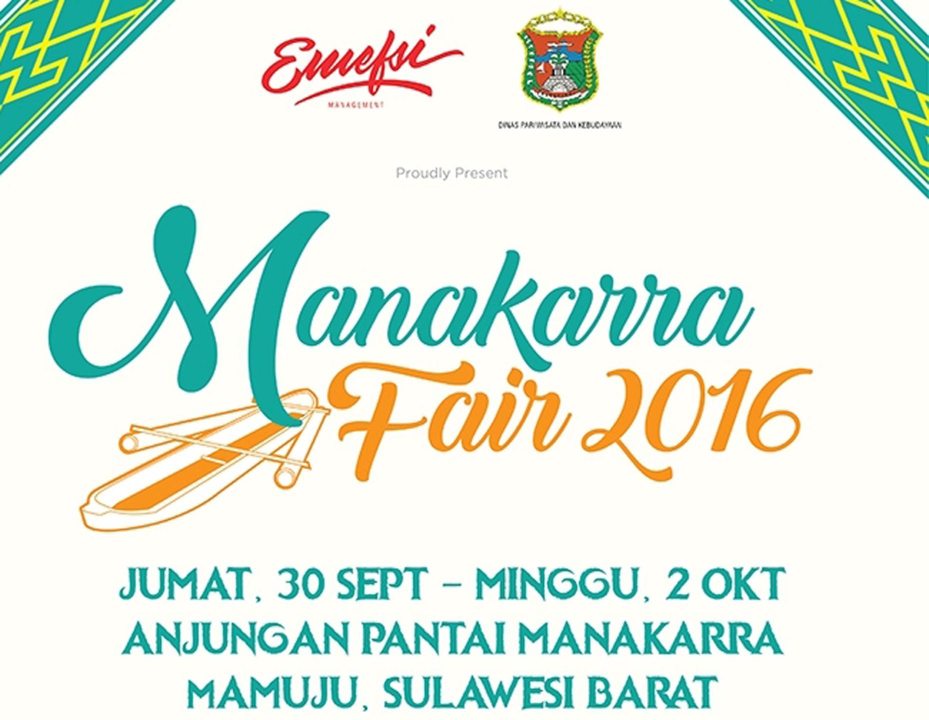Manakarra Fair 2016 Dibalut Sekomandi