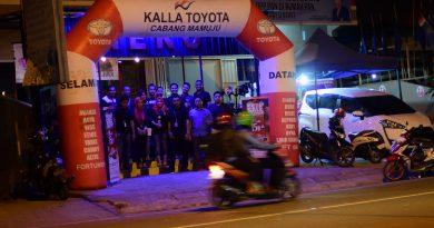 New Year Sale Bration Kalla Mamuju Perkenalkan Toyota Sienta
