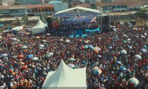 Ribuan Massa Padati Kampanye Terakhir SDK-Kalma di Topoyo