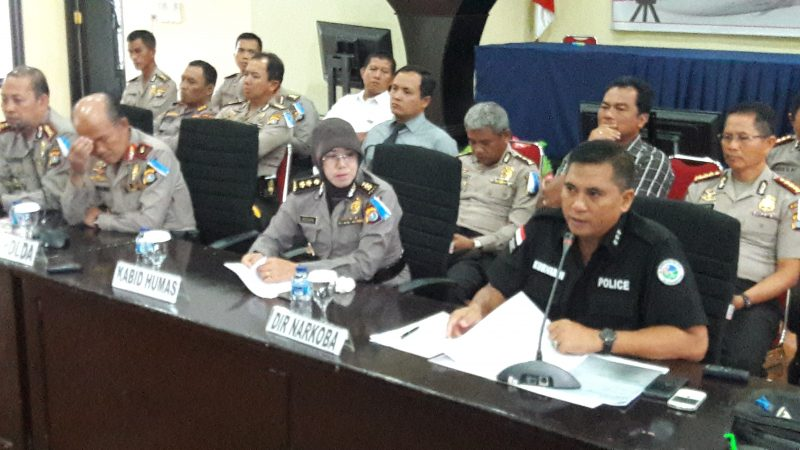 4 Oknum Polisi serta 4 Anggota Masyarakat Tertangkap Nyabu