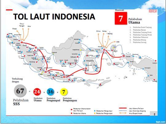 Besok Menteri Perhubungan RI Mencanangkan Tol Laut di Sulbar