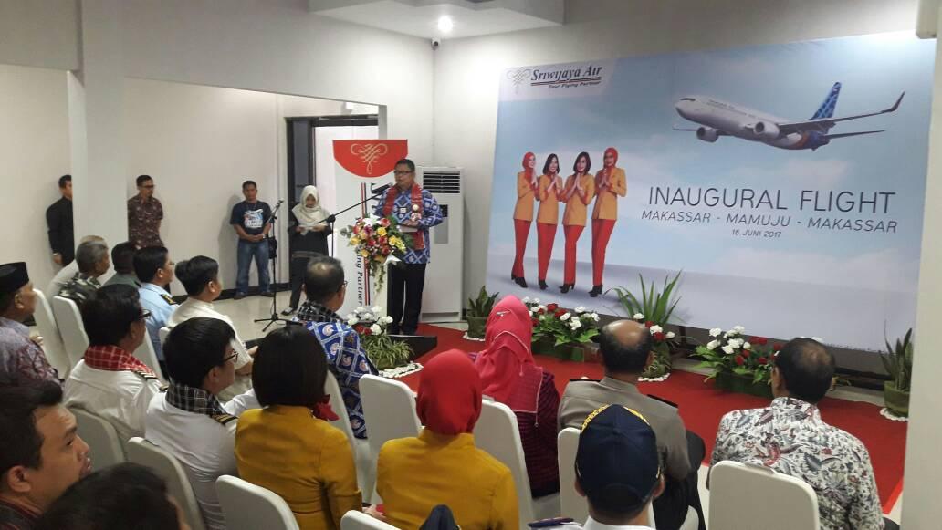 Sriwijaya Air , Resmi Terbang Ke Mamuju