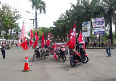 Bela Masyarakat Kulon Progo, GMNI Mamuju Gelar Aksi Demo