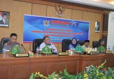 Dorong Transparansi Lembaga, Ombudsman Paparkan Kinerja