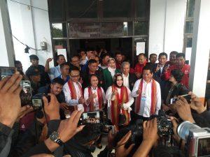 Ramlan-Marthinus Resmi Daftar ke KPU Mamasa