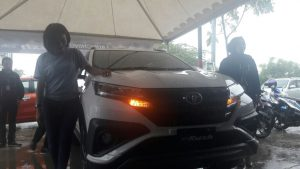 PT H Kalla Toyota Cabang Mamuju Launching All New Rush