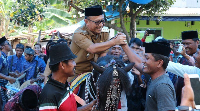 Maulid Nabi Muhammad SAW, Bupati Dijemput Saiyyang Pattuqdu