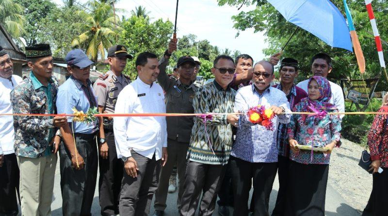 Jalan Dusun Sidal-Dato Sampaga Mulai Dilalui Warga