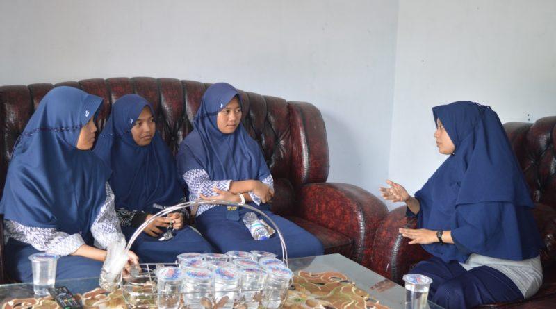 Hindari Maladministrasi OSIS SMPN 2 Mamuju, Konsultasi ke Ombudsman