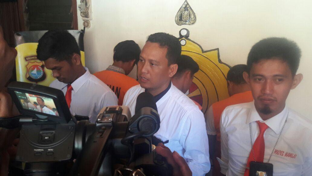 Polres Mamuju Bekuk Spesialis Pencurian di Kantor Pemerintahan