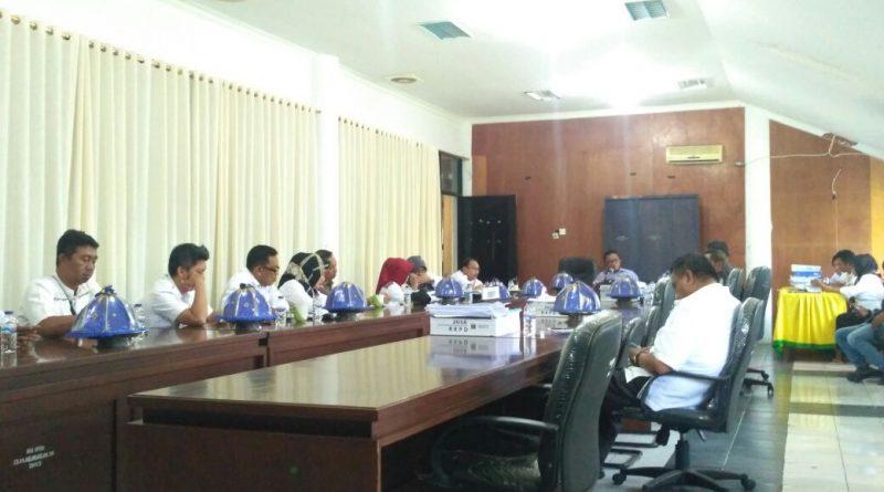 Komisi I DPRD  Mamuju Evaluasi Ranperda Yang Belum Selesai