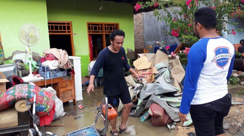 MAM Fondation Bantu Korban Banjir di Mamuju