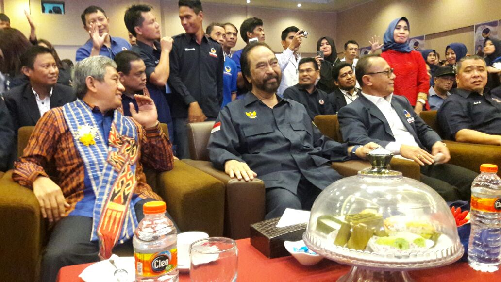 Habsi Wahid Resmi Pimpin NasDem Sulbar