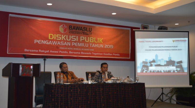 Ombudsman Sulbar Siap Terima Aduan, Terkait Maladministrasi Dalam Pemilu 2019