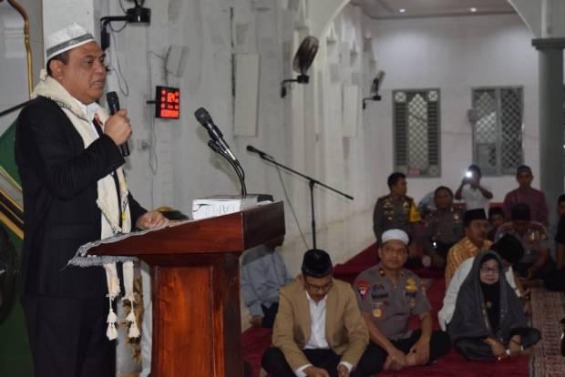 Wakapolri Kunjungi dan Ziarah ke Mesjid Serta Makam Imam Lapeo