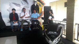 New Honda PCX Resmi Dilaunching Di Mamuju
