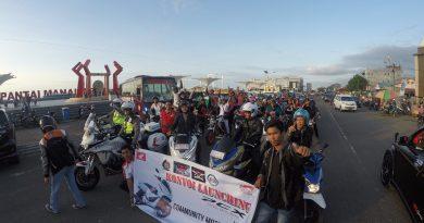 Komunitas Honda Mamuju Konvoi All New PCX 150
