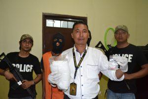 Membawa Narkotika Senilai 2 Milyar Pria Asal Palu Ditangkap