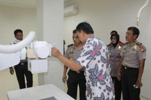 Kapolda Sulbar Tinjau Kesiapan Soft Opening RS Bhayangkara Hoegeng Iman Santoso Polda Sulbar