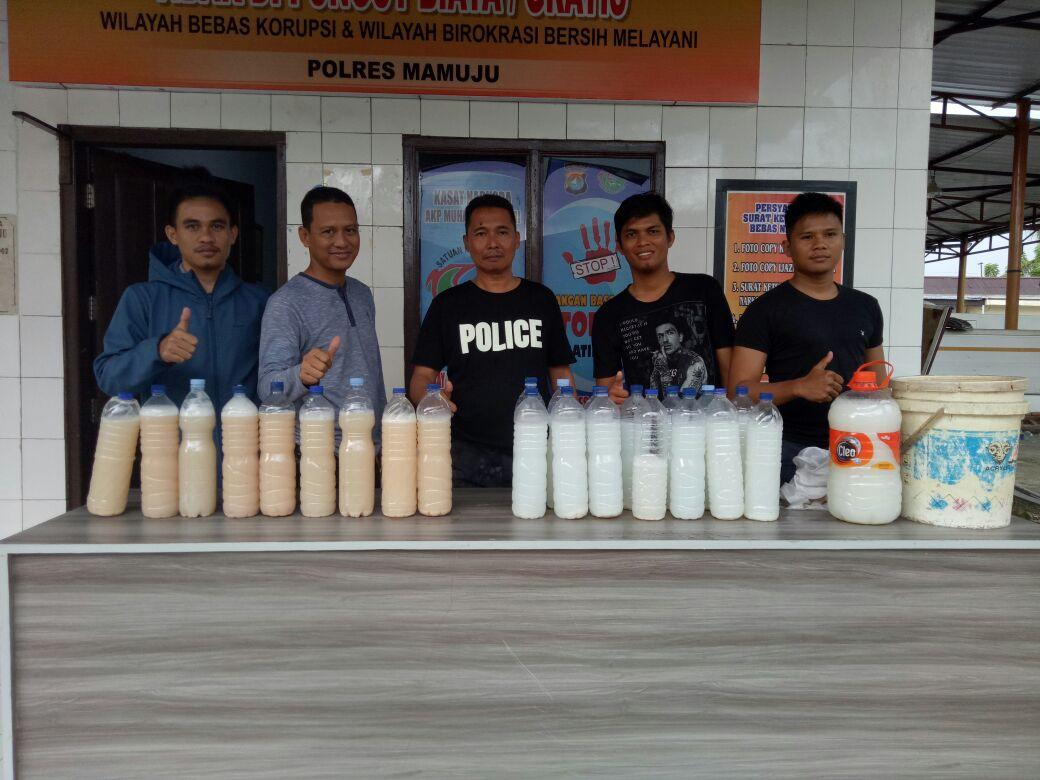 Team Phyton Amankan Miras Jenis Ballo