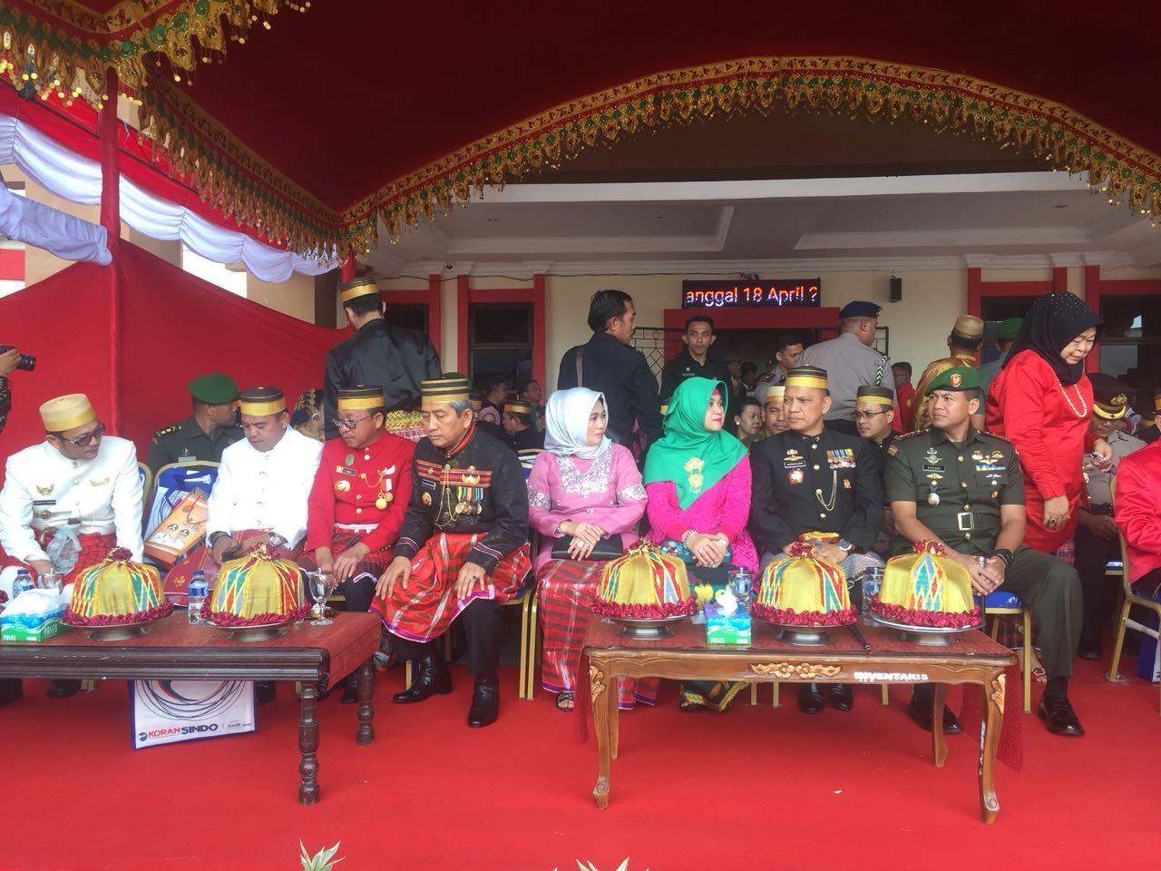 Saifuddin A. Baso sesalkan minimnya anggota DPRD hadir di Upacara HUT ke 15 Pasangkayu.