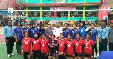 Turnamen Bola Voli Rutan Mamuju Cup I Mulai Bergulir