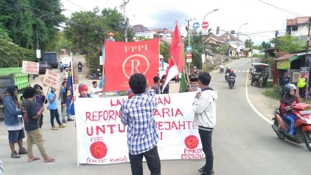 FPPI Mamuju Lakukan Aksi Kesejahteraan Petani