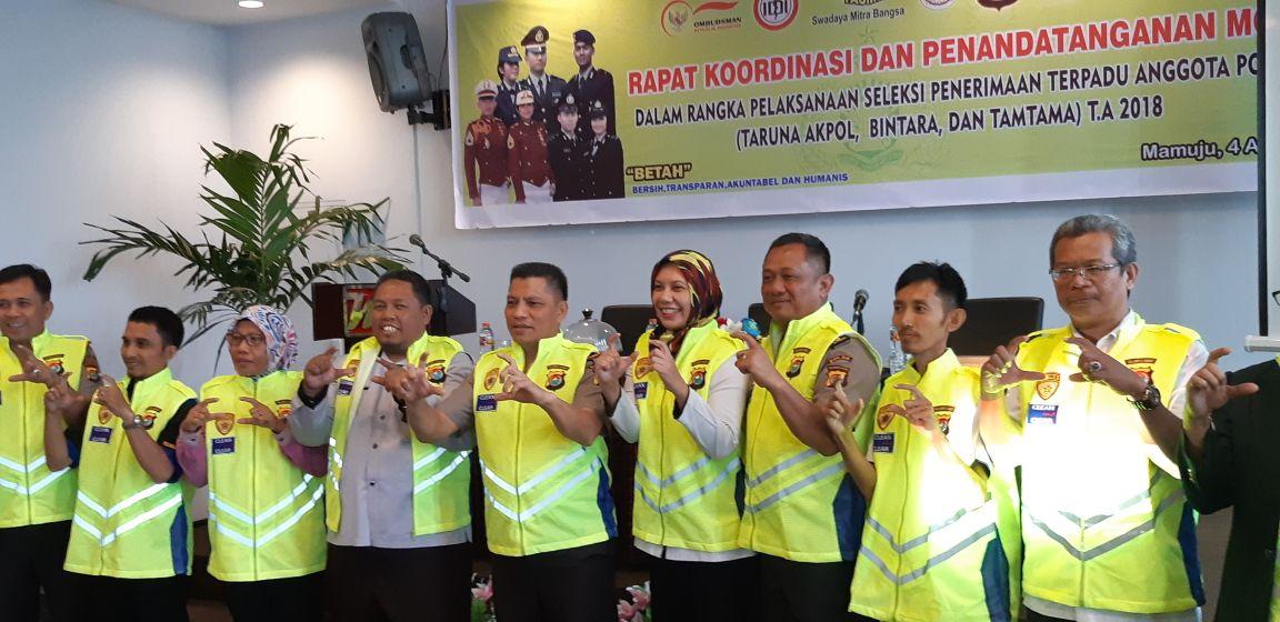 Penerimaan Taruna Kepolisian Harus Bersih, Objektif, Transparan, Akuntabel, Serta Berkualitas