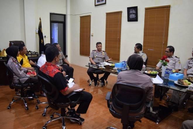 BPN Sulbar Sambangi Mapolda Sulbar