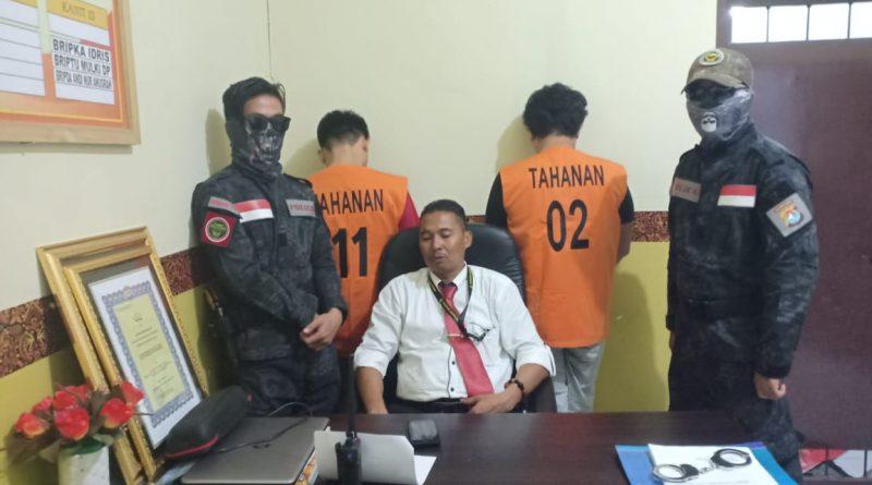 Polres Mamuju Ringkus Penyalah Guna Narkotika Jenis Shabu