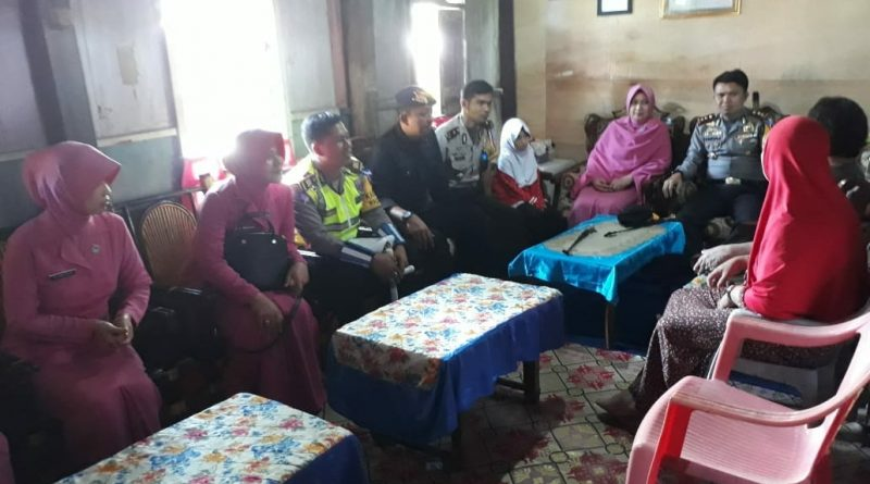 Jelang HUT Bhayangkara Kapolres Polman Anjangsana