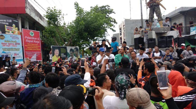 Kalma Katta : Masyarakat Majene Wajib Dukung Perjuangan Pemkab