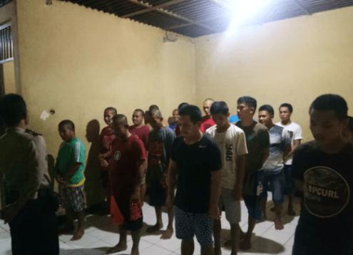 21 Tahanan Polres Majene di Cek