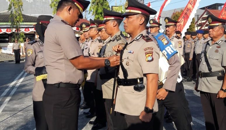 11 Pejabat di Polres Mamuju Alami Pergeseran