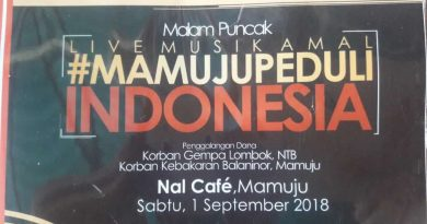Gabungan Komunitas Mamuju Gelar Live Musik Amal