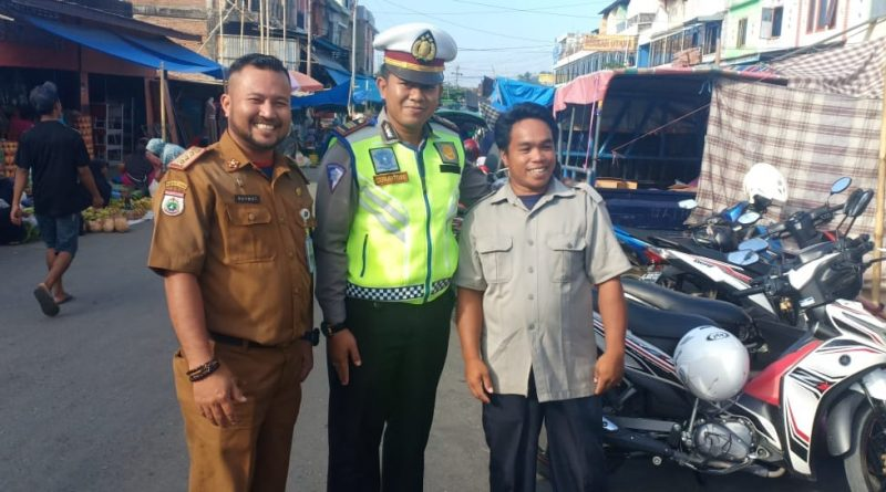 Satlantas Polres Polman Giat Patroli Jalan Kaki