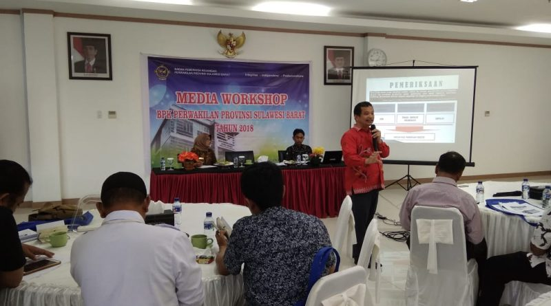 BPK Sulbar Gelar Media Workshop