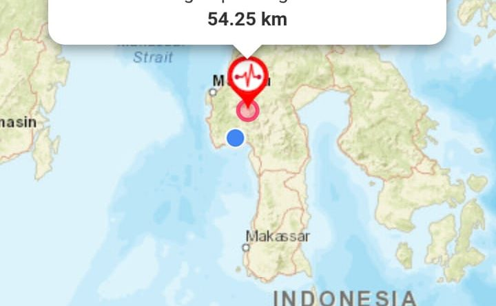 Gempa 5.5 Magnitudo Kembali Guncang Bumi Kondosapata
