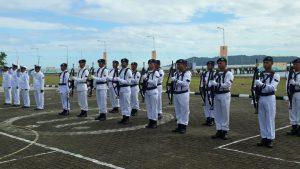 Lanal Mamuju Peringati HUT Armada RI ke-73