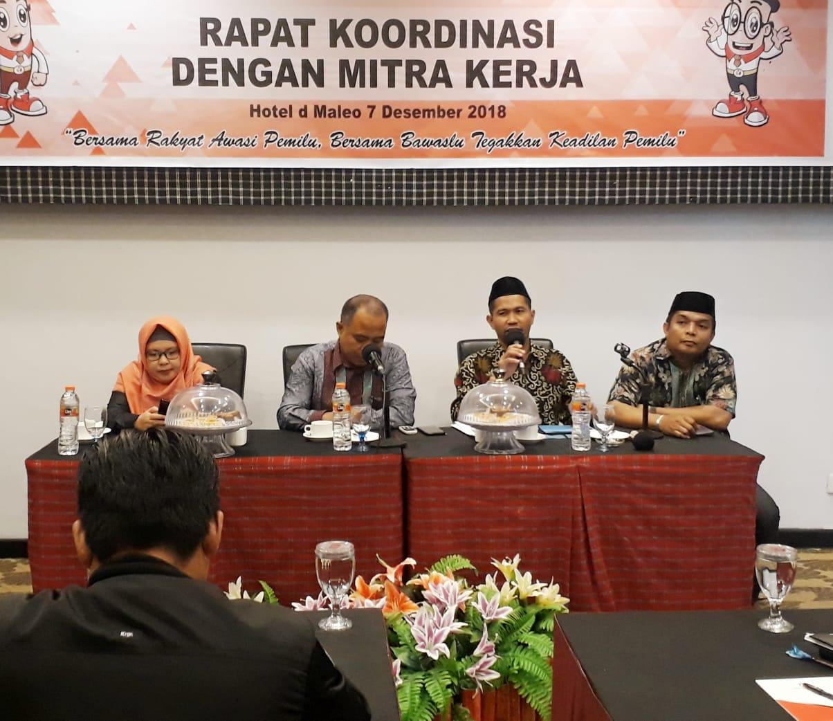 Ketua KPU Sulbar Pastikan KPPS Steril Pada Pemilu 2019 Mendatang
