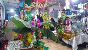 Puluhan Pedagang Pasar Sentral Rayakan Maulid Nabi Muhammad
