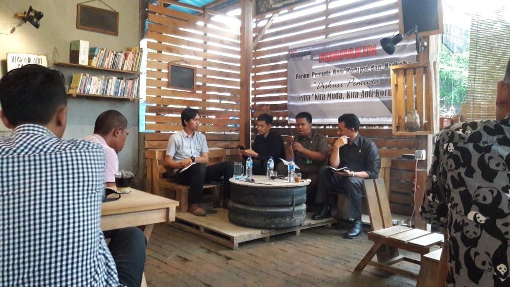 Peringati Hari Anti Korupsi Forpakin Gelar Diskusi Publik