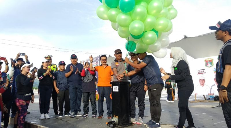 Bupati Mamuju Launching Car Free Day dan Kampanyekan Germas